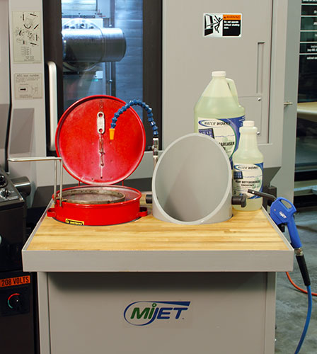 MiJET Parts Cleaning System12